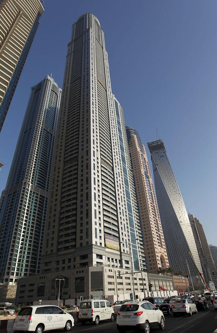 <p><strong>Location:</strong> Dubai, United Arab Emirates</p><p><strong>Height:</strong> 1,356 feet</p><p><strong>Completion Date:</strong> 2012</p><p>The Princess Tower is the tallest residential building in the world. At least, until New York City's 432 Park Avenue started dominating the skyline.</p>