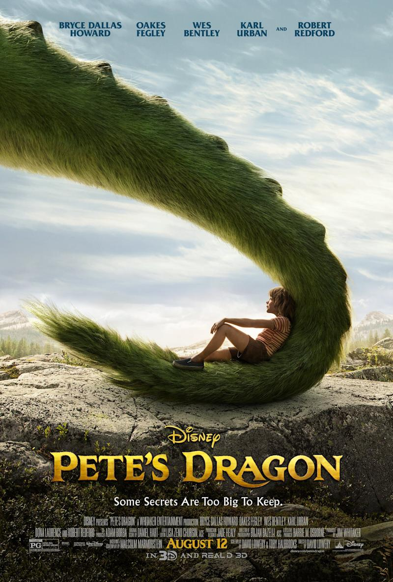A poster for Disney's Pete's Dragon remake. (Disney)