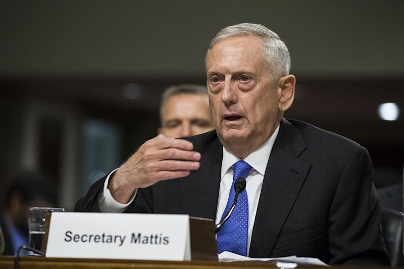 Secretary Mattis says U.S. is 'ready&apos to counter North Korean threat