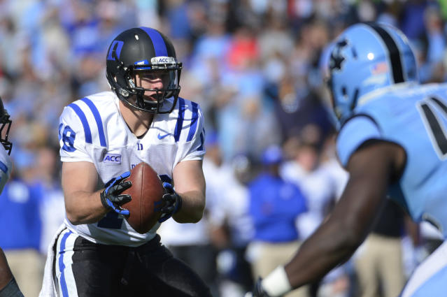 Former Duke QB Brandon Connette tweets that he's heading to Fresno State