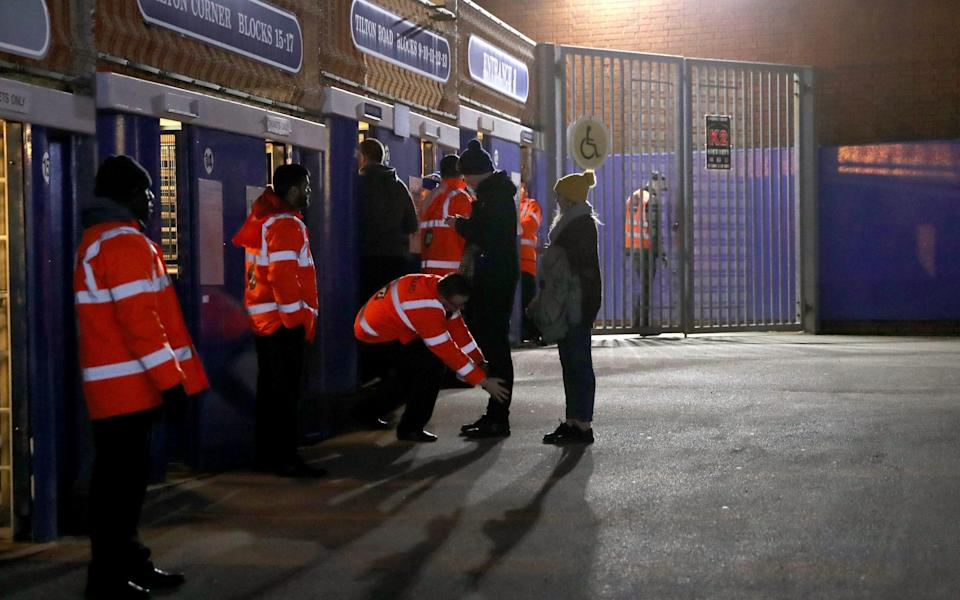 Exclusive: Football League clubs concerned 'pingdemic' could cause steward shortage - Simon Cooper