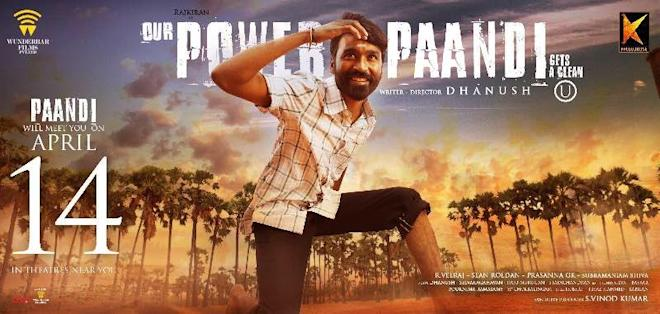 Dhanush in Power Paandi