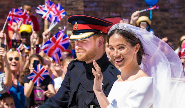 Texts quoted in legal documents and reported in the <em>Daily Mai</em>l took place mostly in the run-up to Meghan and Harry's wedding in 2018. (Photo: DPPA/Sipa USA)