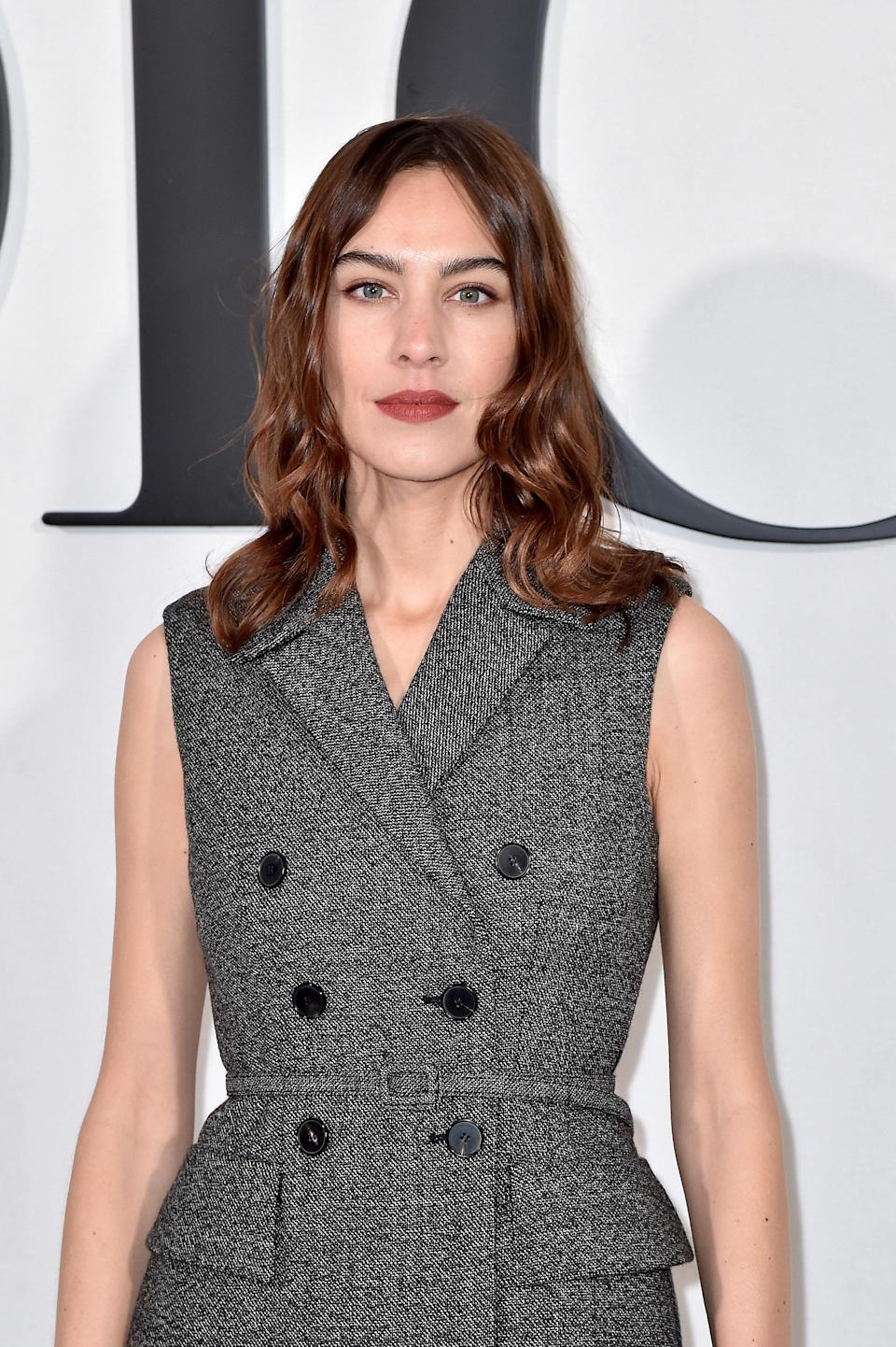Lobs don't have to be a time commitment to style. As Alexa Chung's take on the cut shows, they also look great with minimal styling.