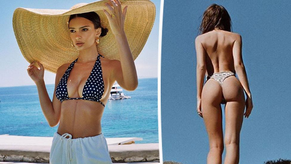 <p>Emily Ratajkowski is no stranger to showing off her incredible figure on social media, so we decided to dedicate a gallery to all of the 27-year-old's sexiest moments. </p>