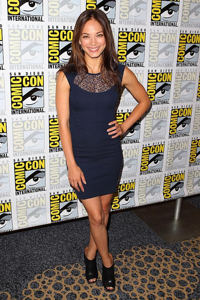 "Kristin Kreuk (""Beauty and the Beast"") at Comic-Con International on July 12, 2012 in San Diego, California."