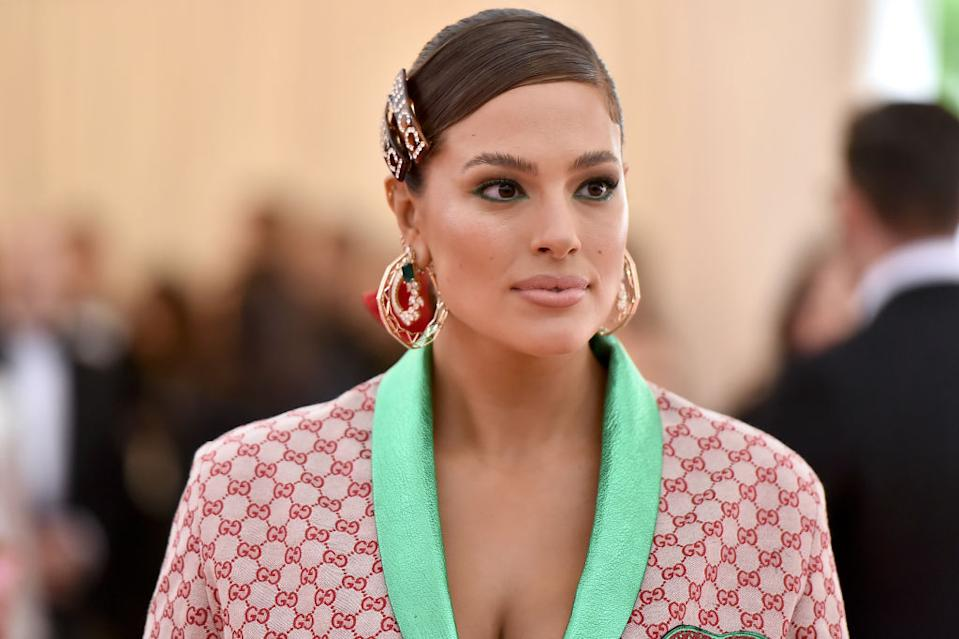 The model opened up about her birth and pregnancy. (Getty Images)