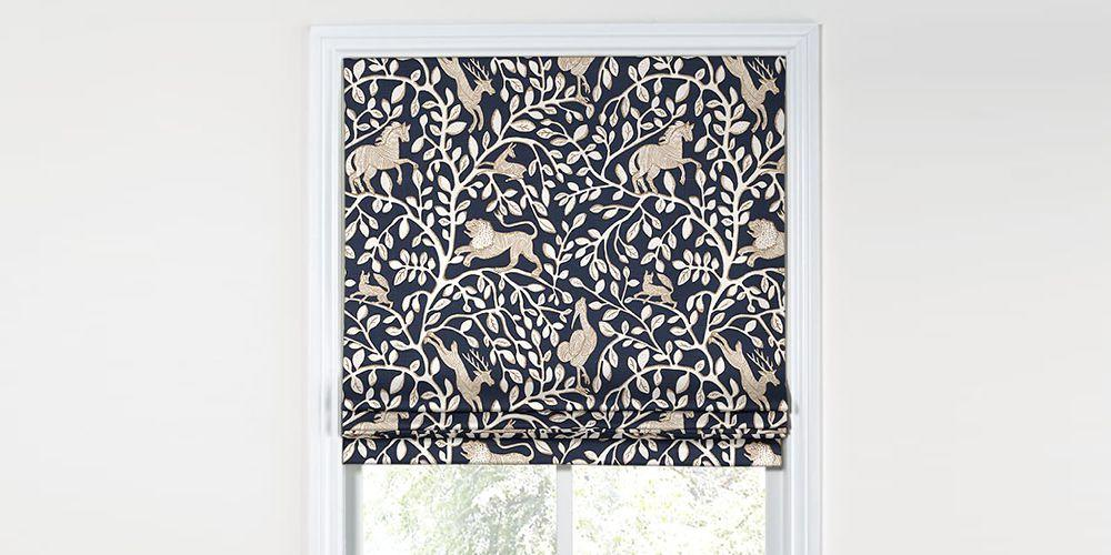 <p>We're not throwing shade - the flowing-drapery look just isn't for everybody. Smooth over your style with these nine Roman shades, which add a little extra structure and color-contrast to a room.</p>