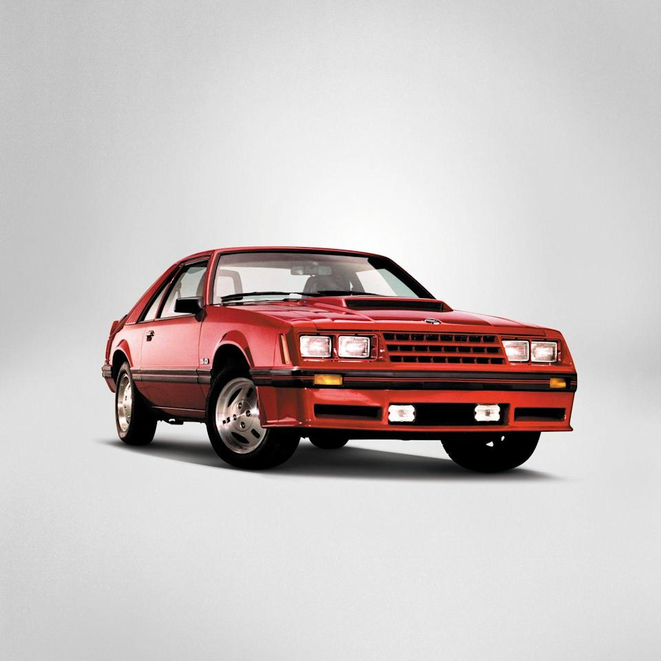 <p>1982 Ford Mustang GT</p>