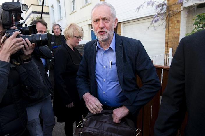 Labour Party leader Jeremy Corbyn has come under pressure after a scandal over alleged anti-Semitism among some party members (AFP Photo/Justin Tallis)