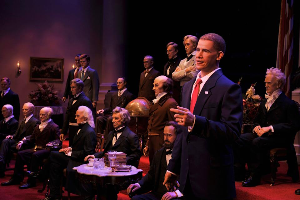 All 46 U.S. presidents are featured in The Hall of Presidents, including Joe Biden, who will be added next month.