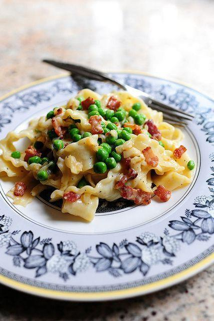 "<p>There's no <em>wrong</em> occasion for pasta carbonara; it's just that Mother's Day is an especially <em>right</em> time to enjoy it. Make the most of in-season peas by scattering a few extras on top.</p><p><strong><a href=""https://www.thepioneerwoman.com/food-cooking/recipes/a10649/pasta-carbonara/"" rel=""nofollow noopener"" target=""_blank"" data-ylk=""slk:Get the recipe"" class=""link rapid-noclick-resp"">Get the recipe</a>.</strong></p><p><strong><a class=""link rapid-noclick-resp"" href=""https://go.redirectingat.com?id=74968X1596630&url=https%3A%2F%2Fwww.walmart.com%2Fsearch%2F%3Fquery%3Ddinnerware&sref=https%3A%2F%2Fwww.thepioneerwoman.com%2Ffood-cooking%2Fmeals-menus%2Fg35589850%2Fmothers-day-dinner-ideas%2F"" rel=""nofollow noopener"" target=""_blank"" data-ylk=""slk:SHOP DINNERWARE"">SHOP DINNERWARE</a></strong></p>"