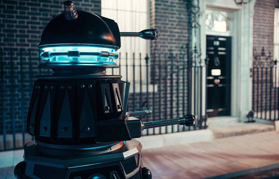 Doctor Who Special 2020 - Revolution Of The Daleks (BBC - Photographer: James Pardon)