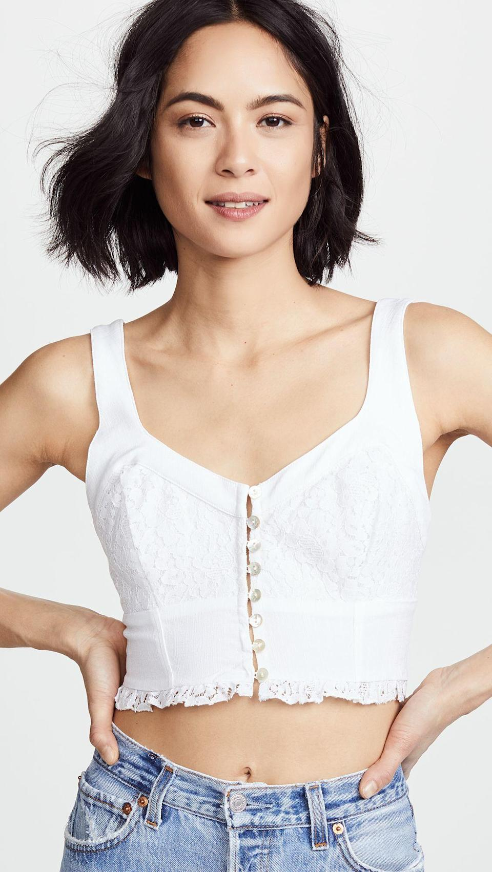 It's a bra, it's a cami, it's a brami! Available in sizes XS to L.
