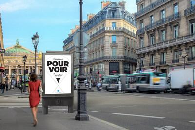 Clear Channel France will operate 1,630 pieces of street furniture in Paris. To create the designs, Clear Channel partnered with French architect and designer Christian Biecher.