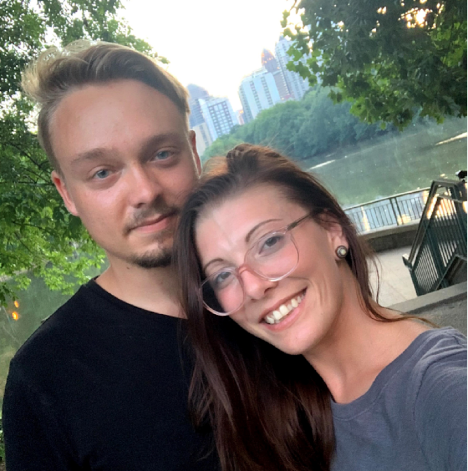 Andreas Flaten and his girlfriend Olivia Oxley (Olivia Oxley)