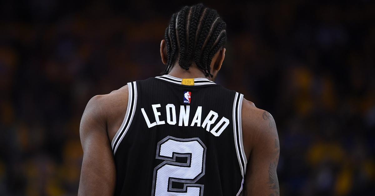 Kawhi Leonard out indefinitely