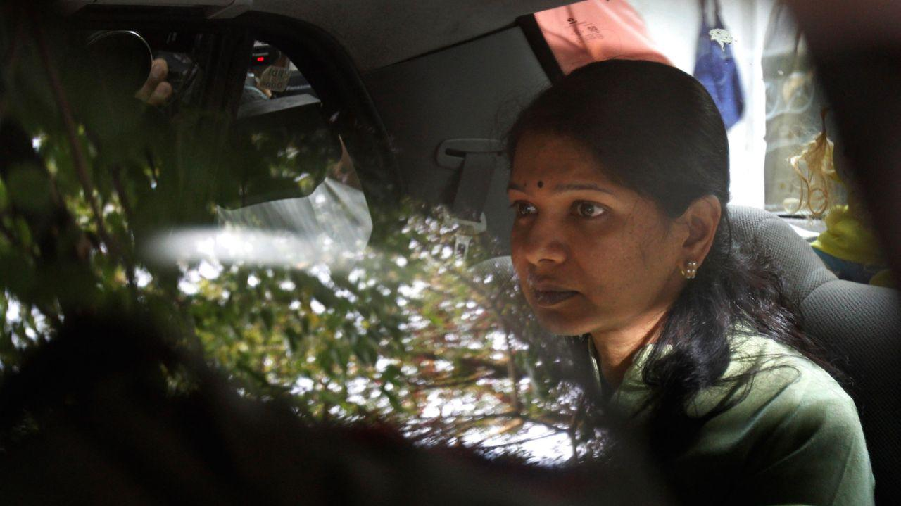 <p>Kanimozhi: The youngest child of DMK chief M Karunanidhi, Kanimozhi was accused by the CBI as a party to the 2G spectrum scam. Kalaignar TV, of which Kanimozhi holds a part of the shares, allegedly received Rs 214 crore as bribe from the spectrum scam. </p>