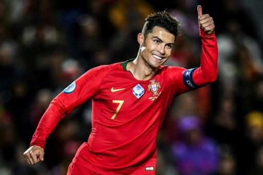 Closing in on a century: Cristiano Ronaldo has scored 98 goals for Portugal