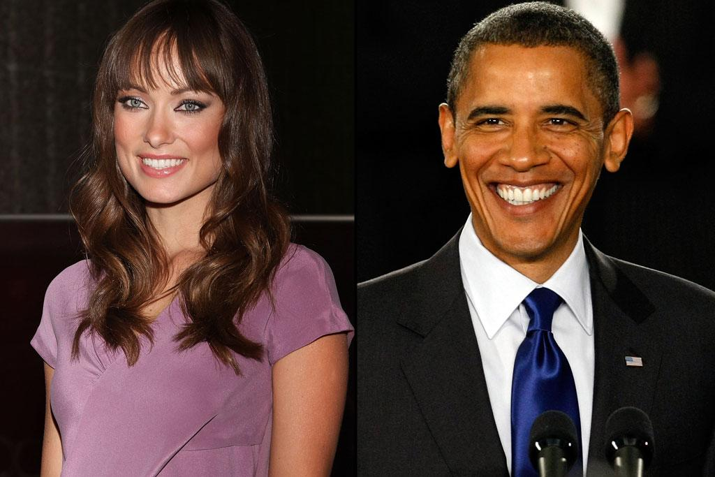 """Olivia actively campaigned for Barack Obama along side Justin Long and fellow """"House"""" co-star Kal Penn. For her efforts, she received a phone call from the Commander-in-Chief thanking her.    """"I was very professional the whole time we spoke,"""" she said to """"Cosmopolitan"""" magazine. """"Then I hung up the phone -- or so I thought -- and started squealing for about 15 seconds.""""    She later found out that the President heard Wilde's shrieking and laughed."""