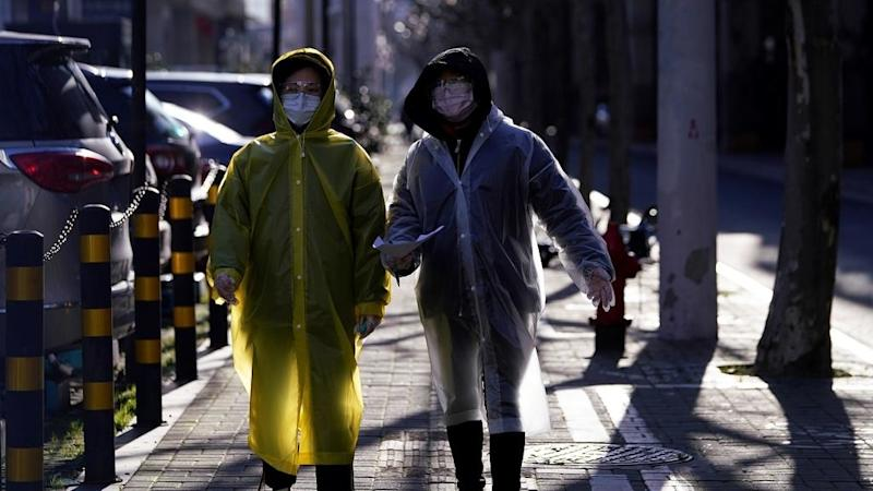 China says mainland death toll from coronavirus reaches almost 1,900