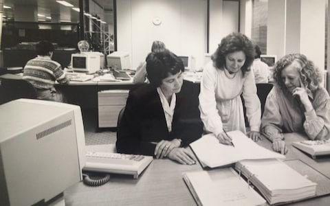 Dame Stephanie Shirley at her company, FI, in the 1960s - Credit: Courtesy of Dame Stephanie Shirley