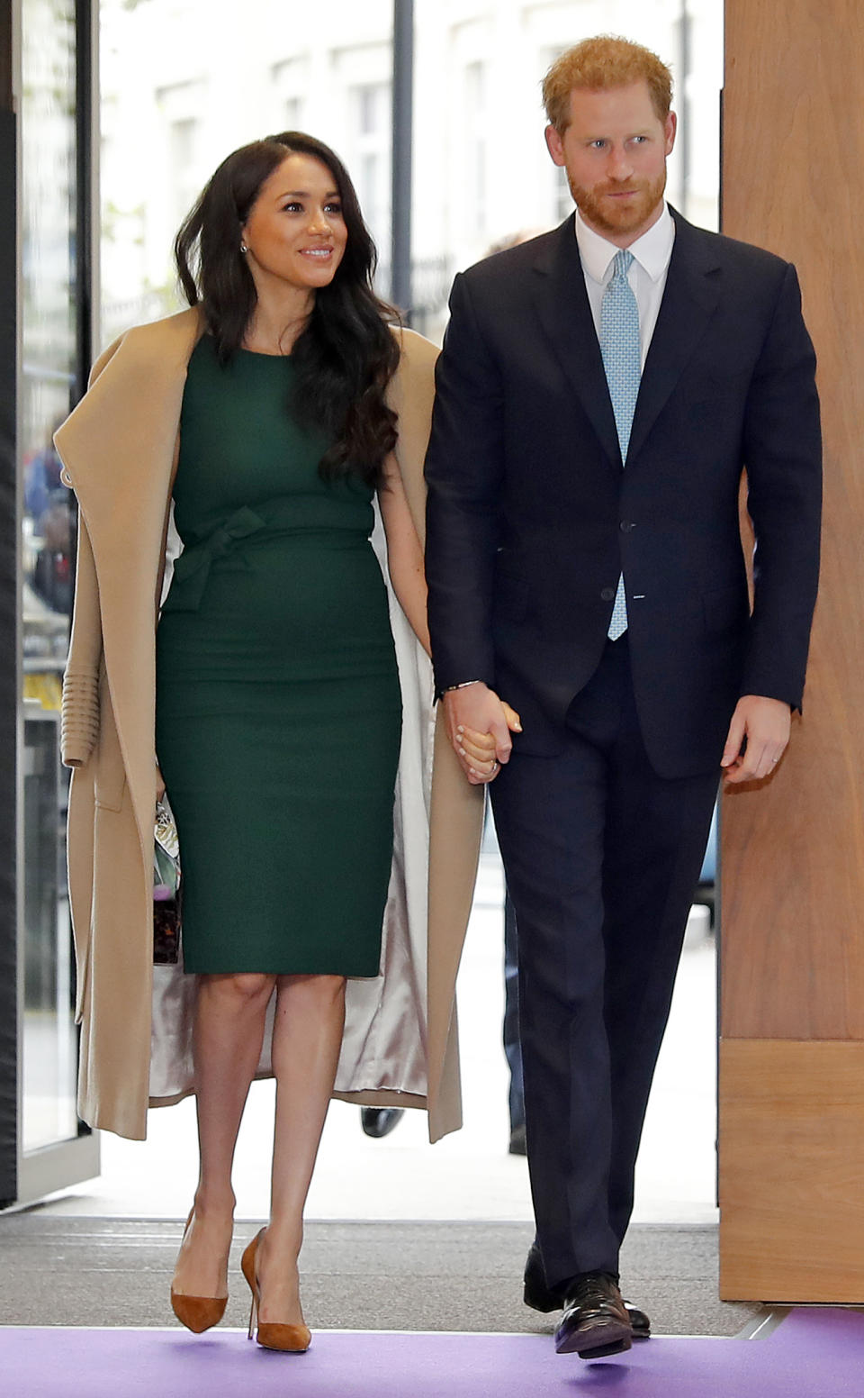 The Duke and Duchess of Sussex arrive at the annual WellChild Awards in London. [Photo: Getty]