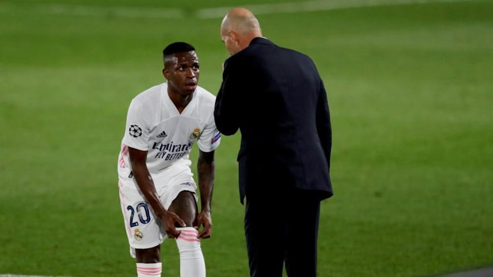 Vinicius demostró a Zidane que debe ser indiscutible en el once | Soccrates Images/Getty Images