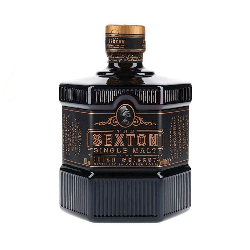 """<p><a class=""""link rapid-noclick-resp"""" href=""""https://go.skimresources.com?id=127X678080&xs=1&url=https%3A%2F%2Fwww.thewhiskyexchange.com%2Fp%2F48115%2Fsexton-single-malt-irish-whiskey%3Fsource%3D%26g_network%3Dg%26g_productchannel%3Donline%26g_adid%3D326288101603%26g_acctid%3D734-378-4471%26g_keyword%3D%26g_adtype%3Dpla%26g_keywordid%3Dpla-613629055665%26g_ifcreative%3D%26g_adgroupid%3D66874936498%26g_productid%3D48115%26g_merchantid%3D2444294%26g_campaign%3DShopping%2B%253e%2BIrish%2BWhisky%26g_partition%3D613629055665%26g_campaignid%3D1680005714%26g_ifproduct%3Dproduct%26gclid%3DCj0KCQiAwf39BRCCARIsALXWETwDw_aEEa6gbQ6ni4RMKcFNEQEqr_foTknrIKlqNvpu-KL4qHXacGAaAtwhEALw_wcB"""" rel=""""nofollow noopener"""" target=""""_blank"""" data-ylk=""""slk:SHOP"""">SHOP</a></p><p>Made from 100% Irish malted barley, triple distilled and created by one of Ireland's only female distillers, this single malt has oak notes, hints of marzipan, dark chocolate and spiced fruits. All the good things which come out at Christmas time then.</p><p>£32, <a href=""""https://go.skimresources.com?id=127X678080&xs=1&url=https%3A%2F%2Fwww.thewhiskyexchange.com%2Fp%2F48115%2Fsexton-single-malt-irish-whiskey%3Fsource%3D%26g_network%3Dg%26g_productchannel%3Donline%26g_adid%3D326288101603%26g_acctid%3D734-378-4471%26g_keyword%3D%26g_adtype%3Dpla%26g_keywordid%3Dpla-613629055665%26g_ifcreative%3D%26g_adgroupid%3D66874936498%26g_productid%3D48115%26g_merchantid%3D2444294%26g_campaign%3DShopping%2B%253e%2BIrish%2BWhisky%26g_partition%3D613629055665%26g_campaignid%3D1680005714%26g_ifproduct%3Dproduct%26gclid%3DCj0KCQiAwf39BRCCARIsALXWETwDw_aEEa6gbQ6ni4RMKcFNEQEqr_foTknrIKlqNvpu-KL4qHXacGAaAtwhEALw_wcB"""" rel=""""nofollow noopener"""" target=""""_blank"""" data-ylk=""""slk:The Whisky Exchange"""" class=""""link rapid-noclick-resp"""">The Whisky Exchange</a></p>"""