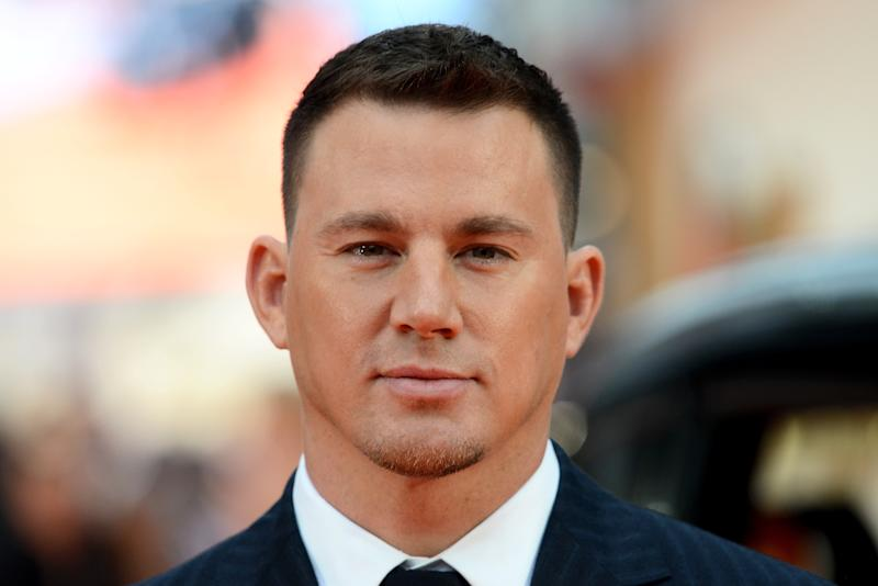 Channing Tatum attends the 'Kingsman: The Golden Circle' premiere.  (Dave J Hogan via Getty Images)