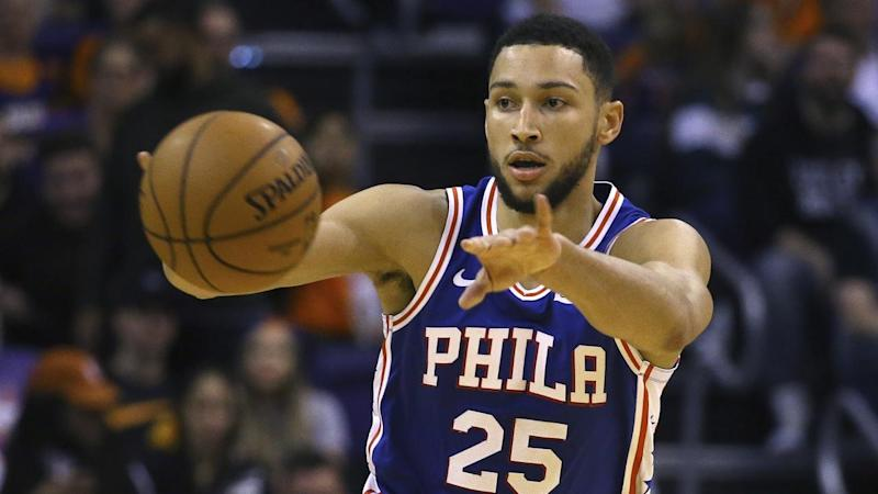 Ben Simmons has been diagnosed with a minor sprain of the AC joint