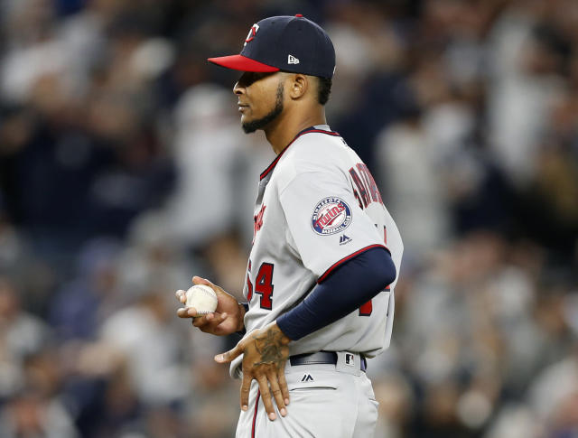 The Twins need another pitcher to go along with Ervin Santana. (AP Photo/Kathy Willens)