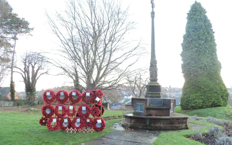 Residents in Tutbury, Staffordshire, put forward a proposal to buy two holders so they could display poppies at the Grade I-listed St Mary's Church