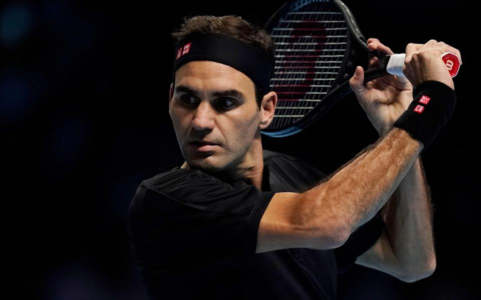 Roger Federer was ruthless in his dismissal of NovakDjokovic in London on Thursday night - Copyright (c) 2019 Shutterstock. No use without permission.