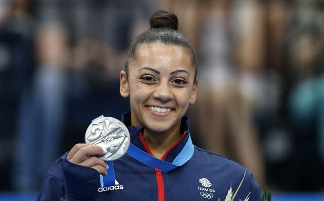 Becky Downie said coaches ignored her complaints about an ankle problem (Martin Rickett/PA)