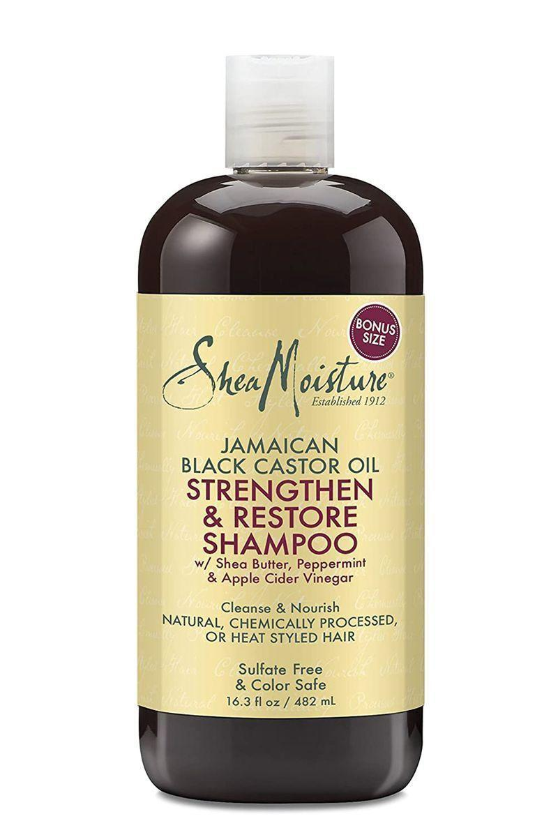 "<p><strong>SheaMoisture</strong></p><p>ulta.com</p><p><strong>$8.04</strong></p><p><a href=""https://go.redirectingat.com?id=74968X1596630&url=https%3A%2F%2Fwww.ulta.com%2Fjamaican-black-castor-oil-strengthen-restore-shampoo%3FproductId%3DxlsImpprod11361001&sref=https%3A%2F%2Fwww.marieclaire.com%2Fbeauty%2Fg25647514%2Fbest-shampoo-for-hair-growth-reviews%2F"" rel=""nofollow noopener"" target=""_blank"" data-ylk=""slk:SHOP IT"" class=""link rapid-noclick-resp"">SHOP IT</a></p><p>Taylor suggests incorporating this shampoo into your wash routine because it strengthens and restores the hair with the one-star ingredient. <strong>""Jamaican Black Castor Oil increases blood flow to the scalp</strong>, supplying nutrients to hair follicles, which speeds up hair growth,"" Taylor confirms.</p>"