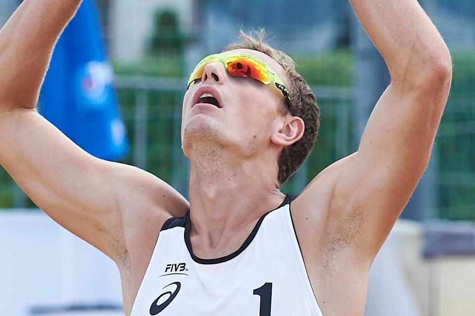 Czech beach volleyball player Ondrej Perusic has tested postive for Covid-19 in Tokyo (Getty Images for FIVB)