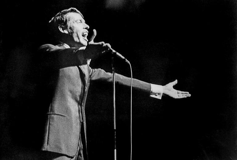 Brel exploded onto the music scene in the late 1950s