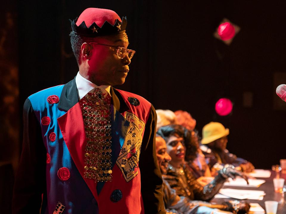 "Billy Porter plays a ballroom emcee on ""Pose."""