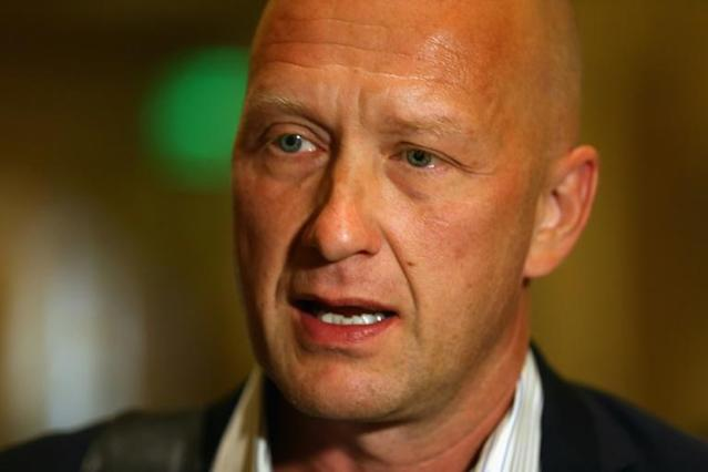Columbus Blue Jackets general manager Jarmo Kekalainen will not see his team play in his homeland next season after the NHL announced Friday it was scrapping international games for the 2020-21 campaign (AFP Photo/BRUCE BENNETT)