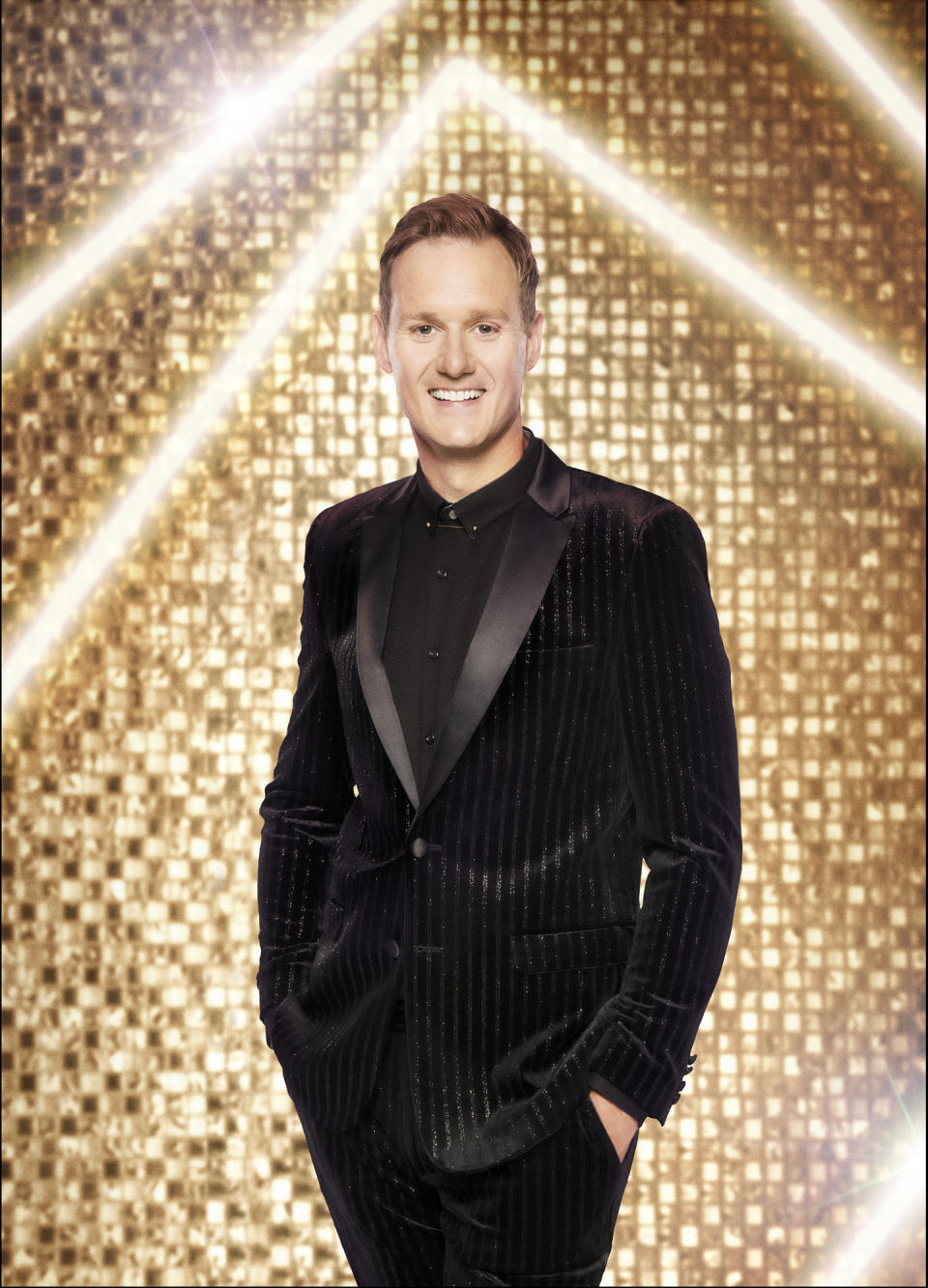 WARNING: Embargoed for publication until 00:00:01 on 17/09/2021 - Programme Name: Strictly Come Dancing 2021 - TX: n/a - Episode: Strictly Come Dancing - Generics (No. n/a) - Picture Shows: *NOT FOR PUBLICATION UNTIL 00:01HRS, FRIDAY 17th SEPTEMBER, 2021* Dan Walker - (C) BBC - Photographer: Ray Burmiston