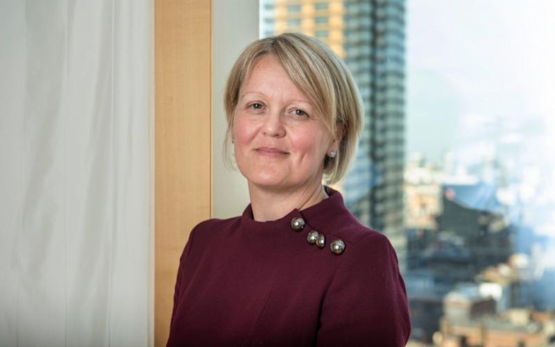 "Alison Rose, Deputy CEO of NatWest said that the current start-up funding gap between men and women is ""frankly unacceptable"" - JULIAN SIMMONDS"