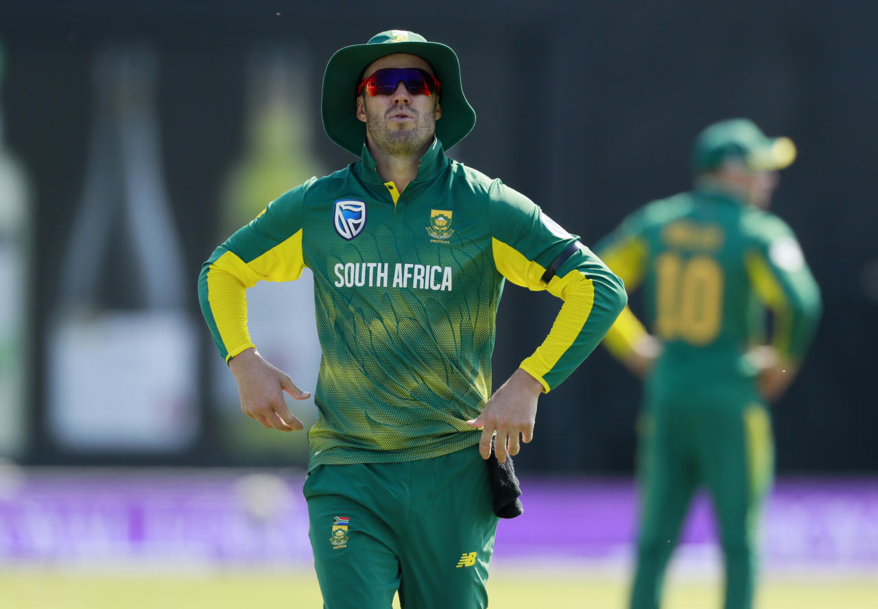Britain Cricket - England v South Africa - First One Day International - Headingley - 24/5/17 South Africa's AB de Villiers looks on Action Images via Reuters / Jason Cairnduff Livepic