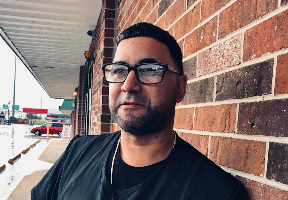 <p>Orlando Rivera says many Latinos would be voting for Biden</p>Andrew Buncombe