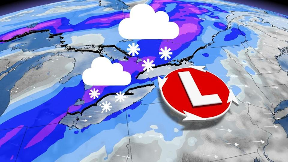 Significant spring snow threat targets Ontario this week
