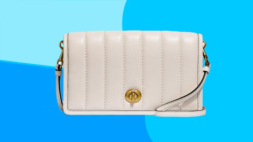 This get stylish leather crossbody bag for a 50% discount.
