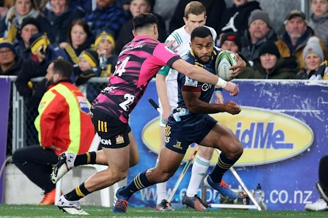 It was the opening game of New Zealand's Super Rugby Aotearoa (AFP Photo/Marty MELVILLE)
