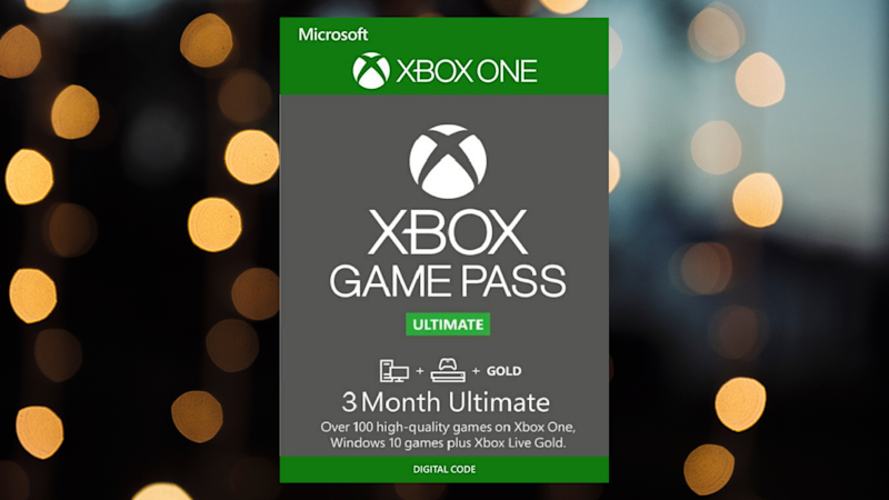Save $12 on three months of Xbox gaming. (Photo: Microsoft)