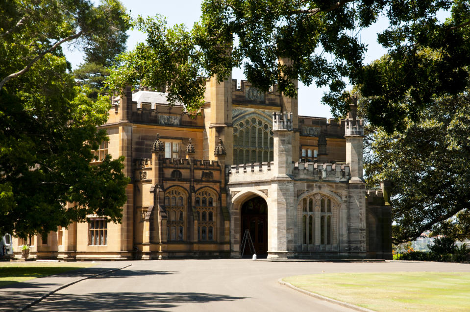 Government House, Sydney. Image: Getty