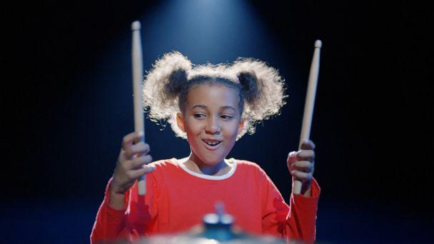 PHOTO: The young percussionist has found a whole new fan base as the face of British retailer Argos' Christmas television commercial. (Argos)